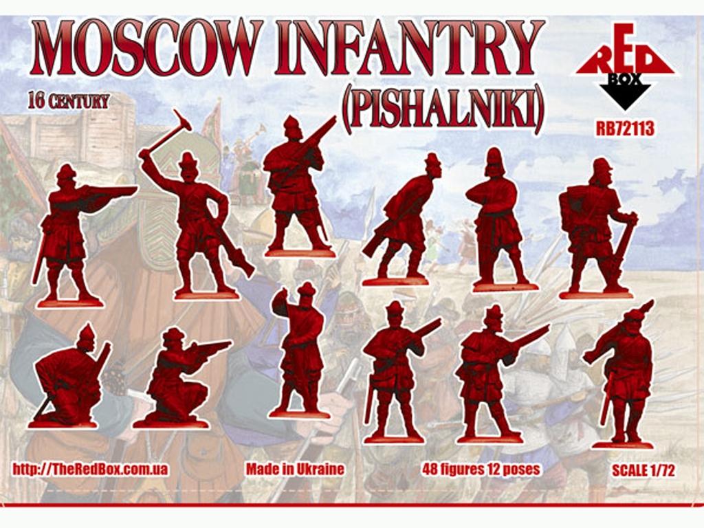 Infantería de Moscú (pishalniki) Siglo X  (Vista 2)