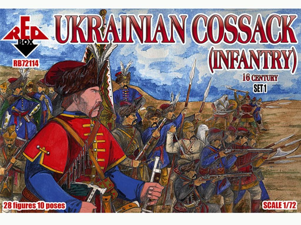 Infanteria Cosacos Ucrania Siglo XVI Set  (Vista 1)