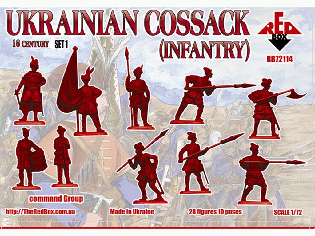 Infanteria Cosacos Ucrania Siglo XVI Set  (Vista 2)