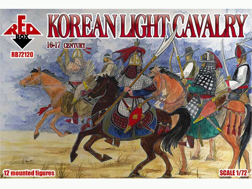 Caballería Ligera de Corea Siglos XVI /   (Vista 1)