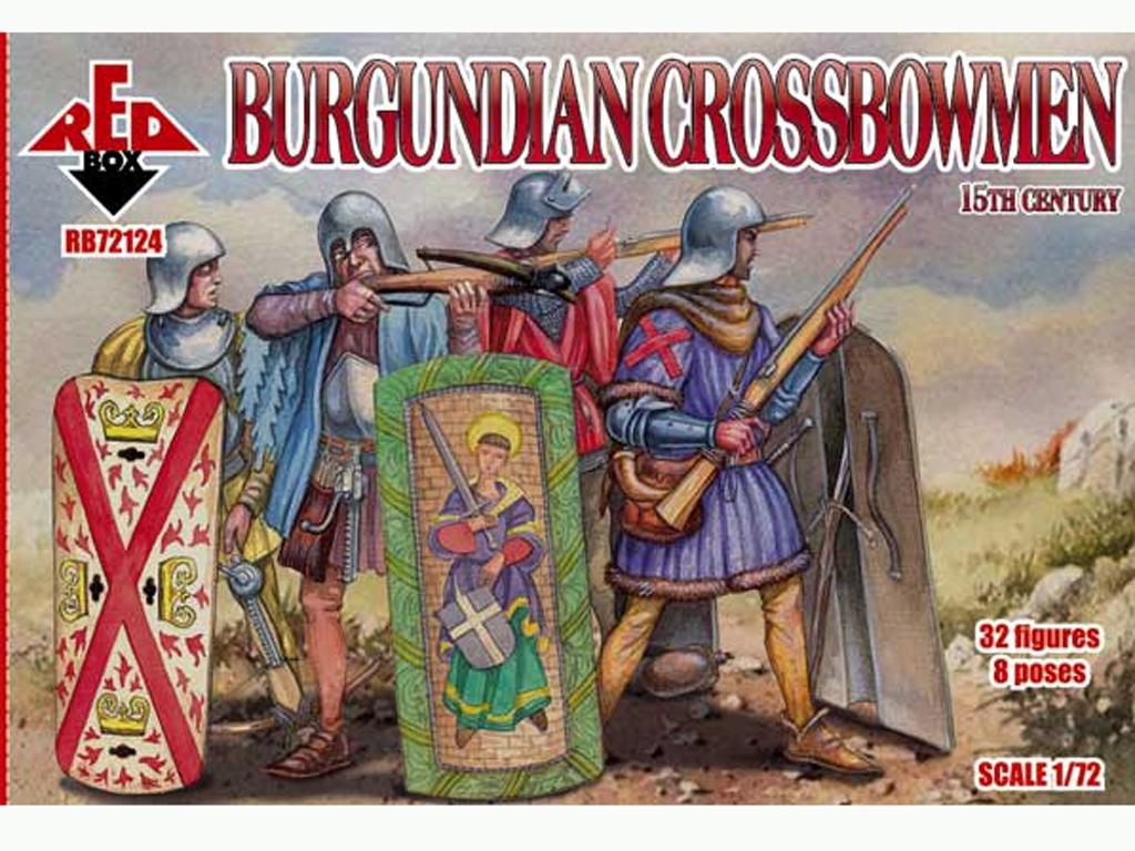 Ballesteros de Borgoña Siglo XV  (Vista 1)