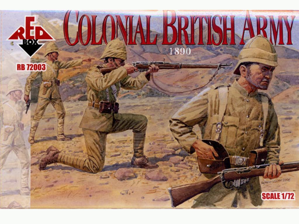 Ejército Colonial Británico 1890 (Vista 1)