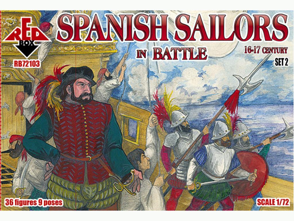 Marineros Españoles en Batalla Siglo XVI (Vista 1)