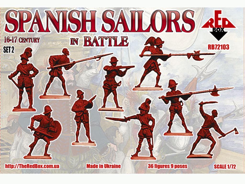 Marineros Españoles en Batalla Siglo XVI (Vista 2)
