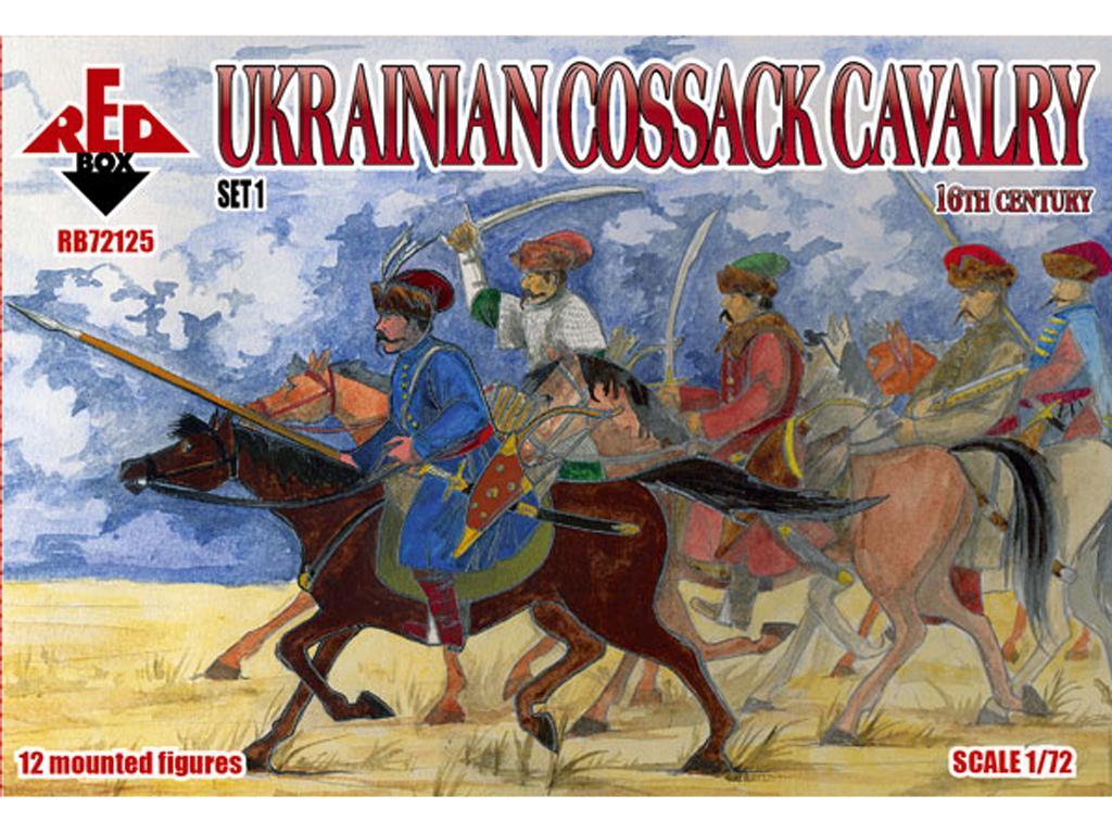 Caballería cosaca ucraniana (Vista 1)