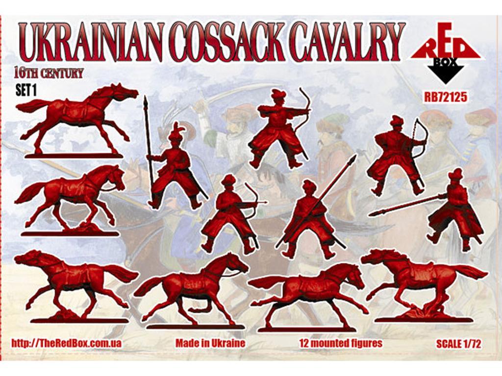 Caballería cosaca ucraniana (Vista 2)