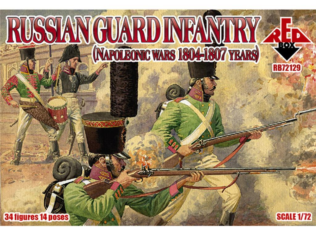 Infantería de la Guardia Rusa. 1804-1807 (Vista 1)