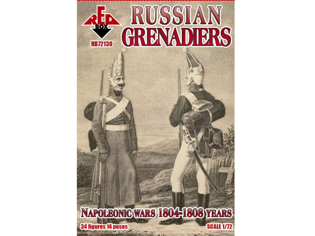 Granaderos Rusos 1804-1808 (Vista 1)