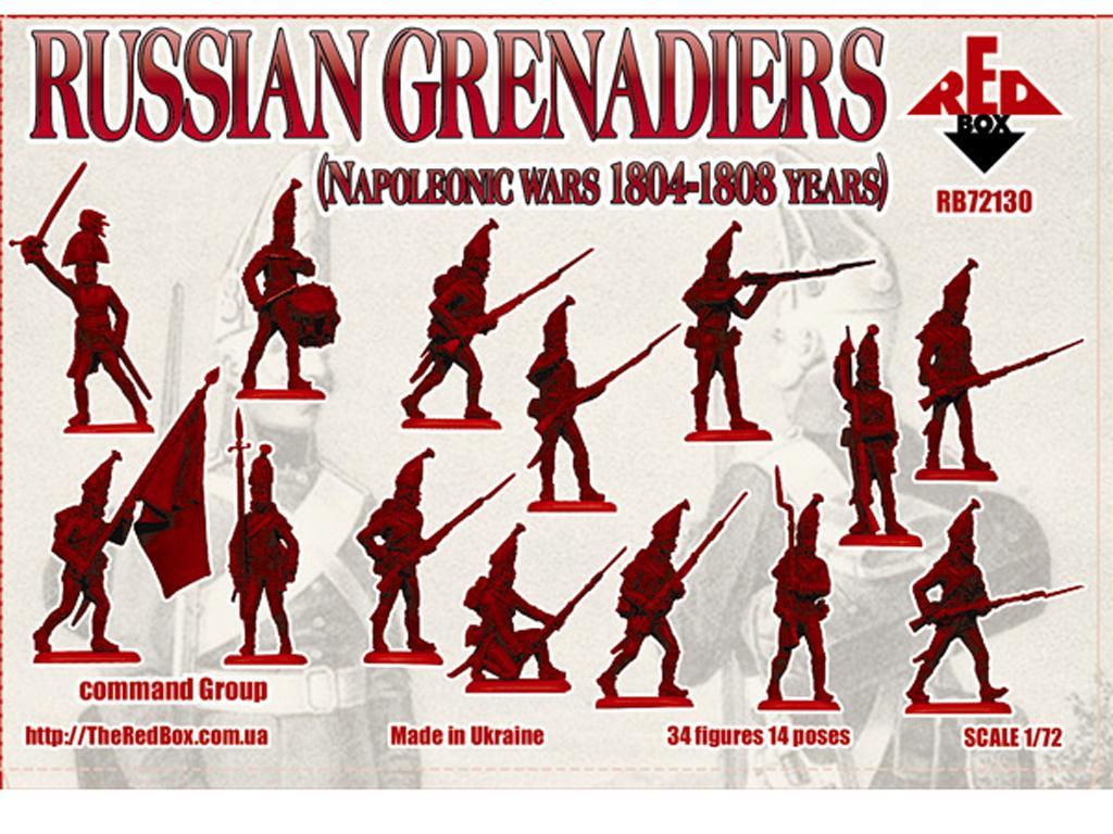 Granaderos Rusos 1804-1808 (Vista 2)