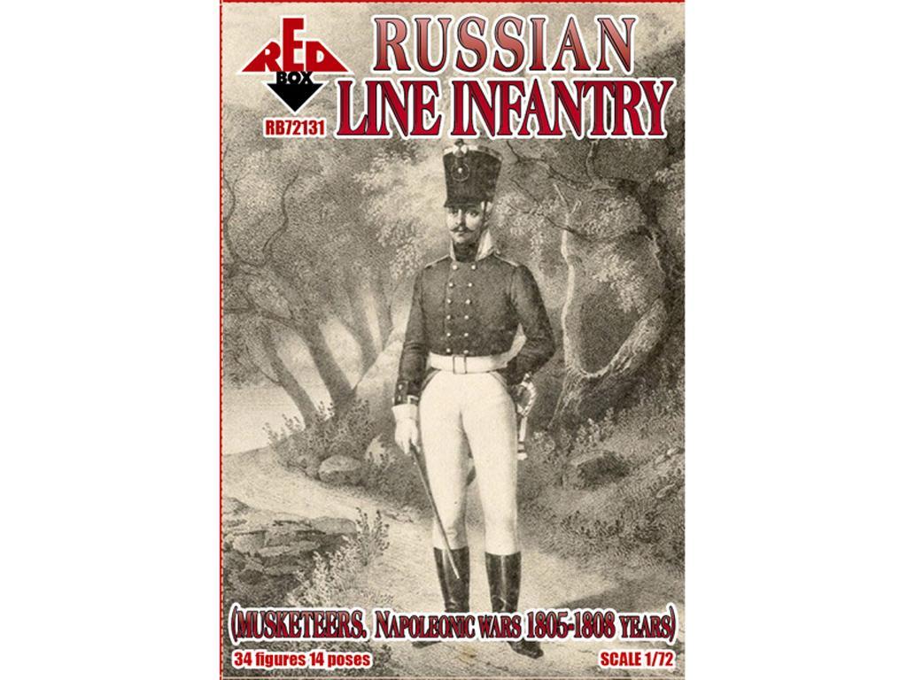 Infantería Rusa de línea (mosqueteros) 1805-1808 (Vista 1)