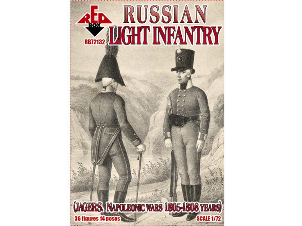 Infantería ligera Rusa (Jagers) 1803-1807 (Vista 1)