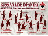 Infantería Rusa de línea (mosqueteros) 1805-1808 (Vista 4)