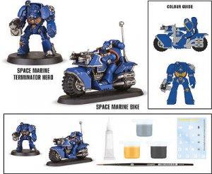 Space Marine Bike Attack  (Vista 3)