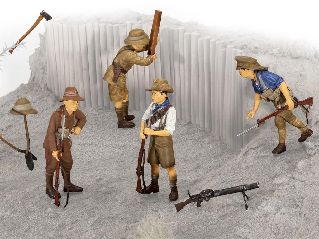 ANZAC Infanteria 1915  (Vista 2)