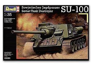 Cazacarros Soviético SU-100 - Ref.: REVE-03084