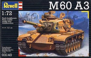 M60 A3 Medium Tank - Ref.: REVE-03140