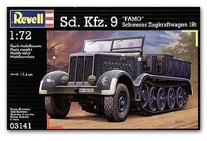 Semioruga Aleman Sd.Kfz.9 Famo - Ref.: REVE-03141