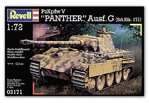 Tanque V Panther Ausf.G (SD.KFZ.171) - Ref.: REVE-03171