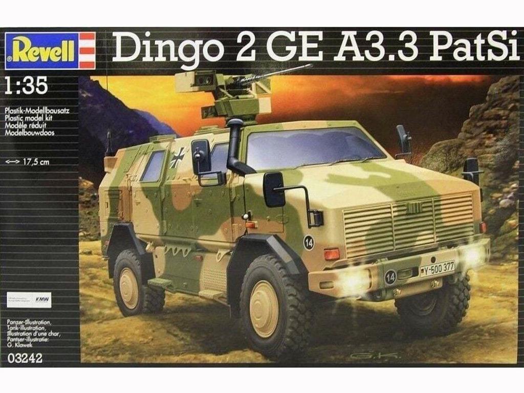 Dingo 2 GE A3.3 PatSi - Ref.: REVE-03242