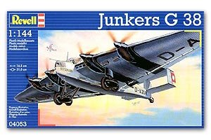 junkers g 38 avion 1 144 maquetas. Black Bedroom Furniture Sets. Home Design Ideas