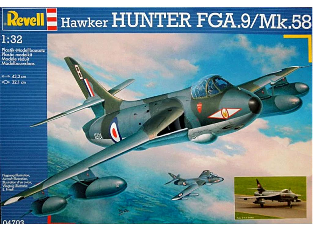 Hawker Hunter FGA.9/Mk.58