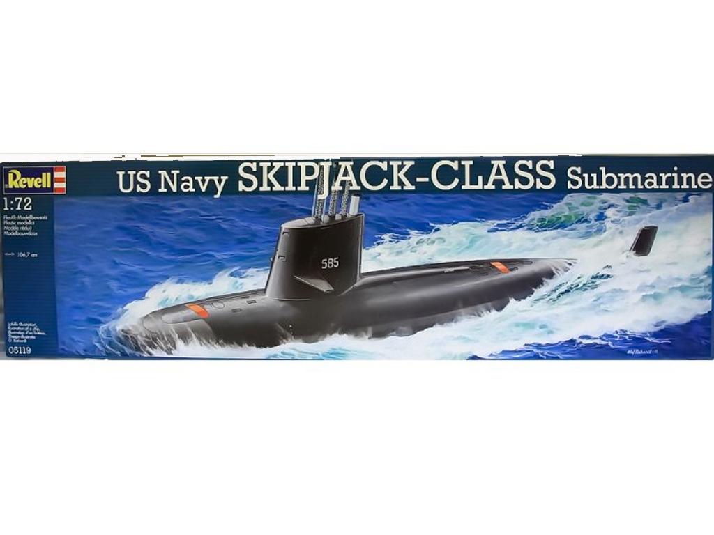 US Navy SKIPJACK-CLASS Submarine - Ref.: REVE-05119