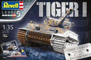 Geschenkset Tiger I Ausf.E 75th Annivers - Ref.: REVE-05790