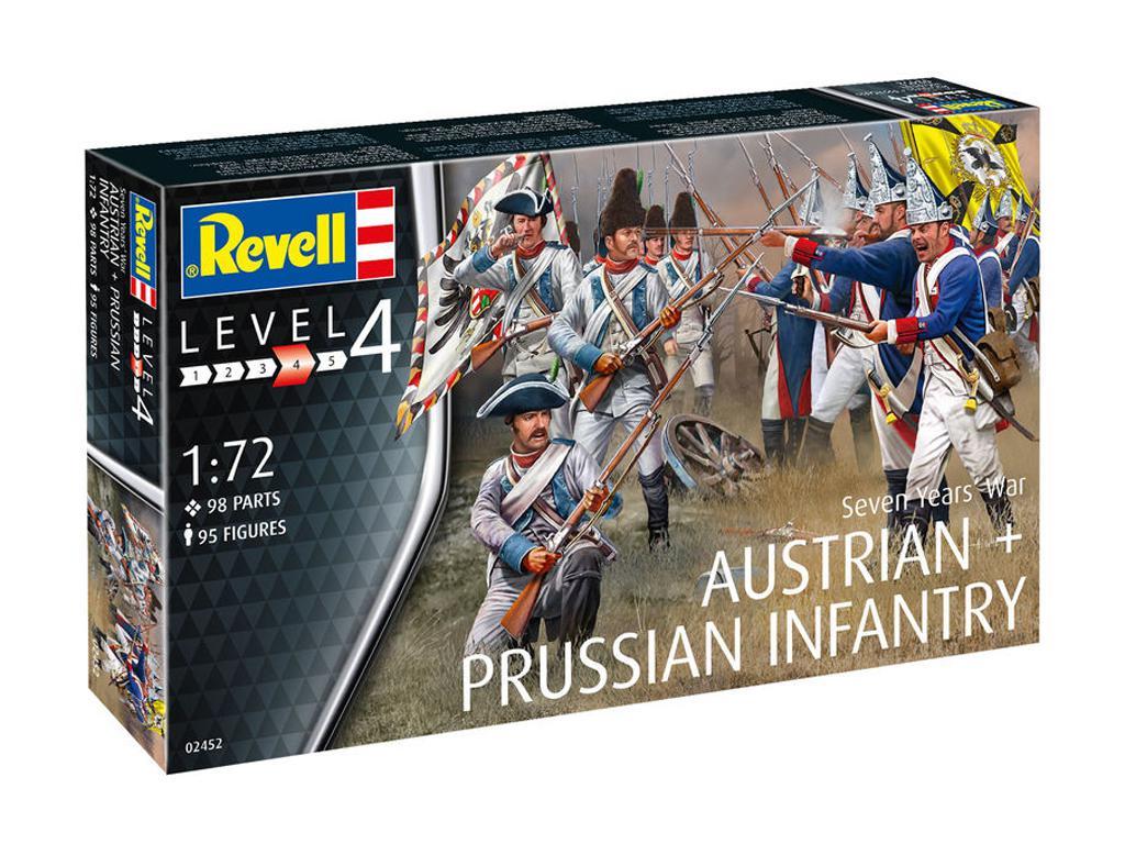 Infantería Austriaca y Prusiana (Vista 1)