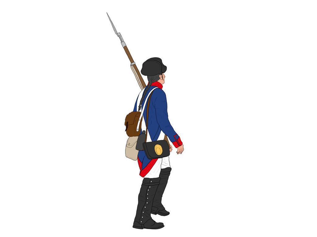 Infantería Austriaca y Prusiana (Vista 2)