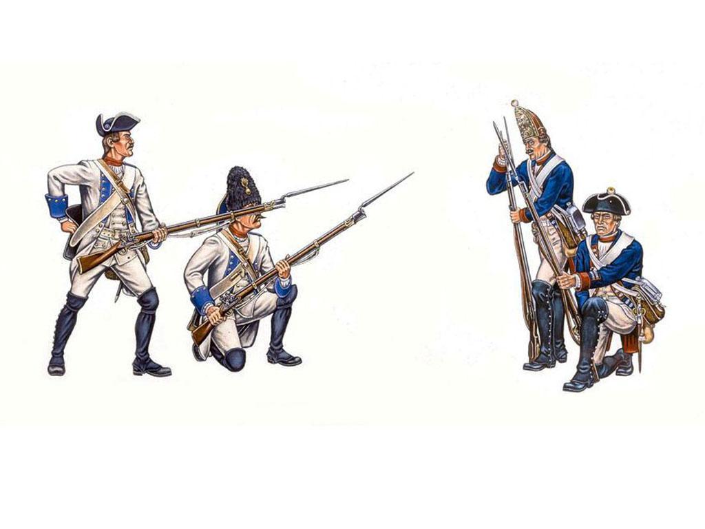 Infantería Austriaca y Prusiana (Vista 3)