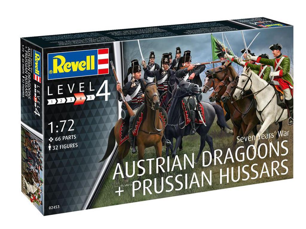 Dragones Austriacos y Húsares Prusianos (Vista 1)
