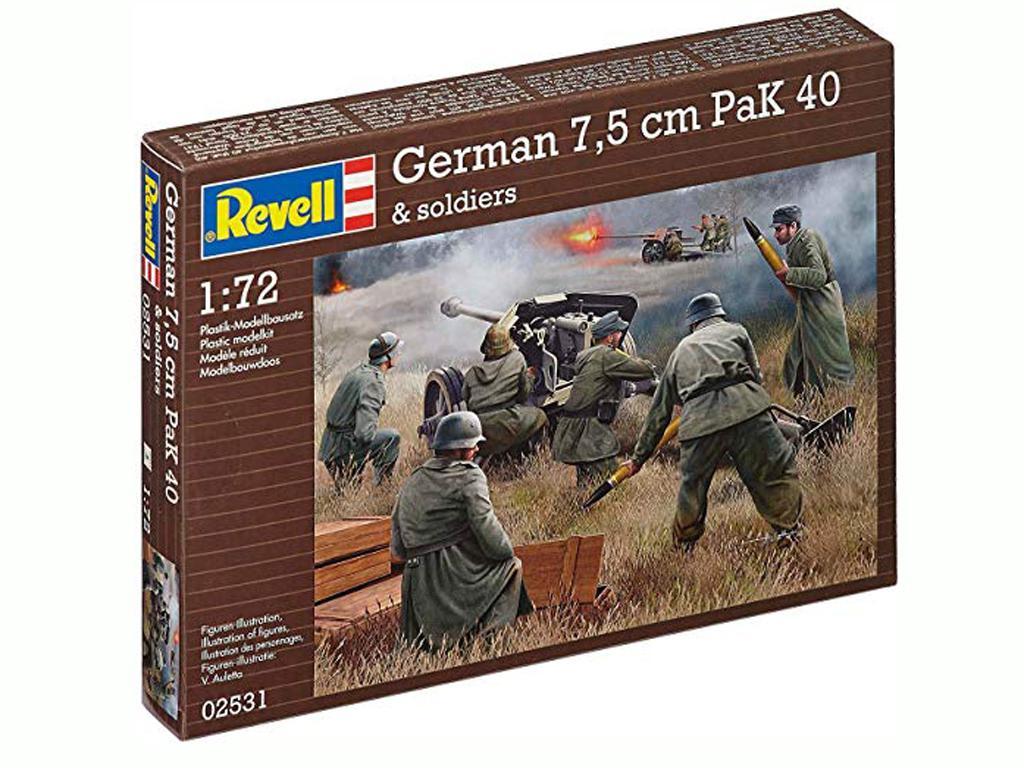 German 7,5 cm PaK 40 (Vista 1)