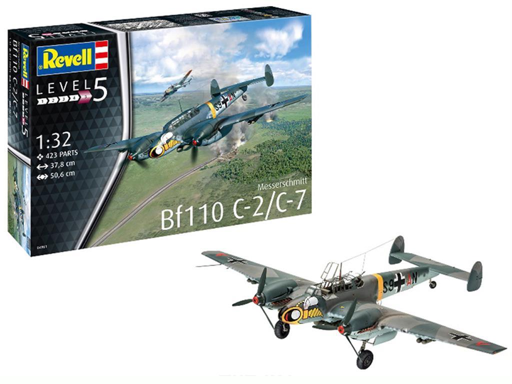 Messerschmitt Bf110 C-7 (Vista 1)