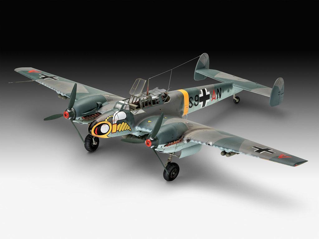 Messerschmitt Bf110 C-7 (Vista 3)