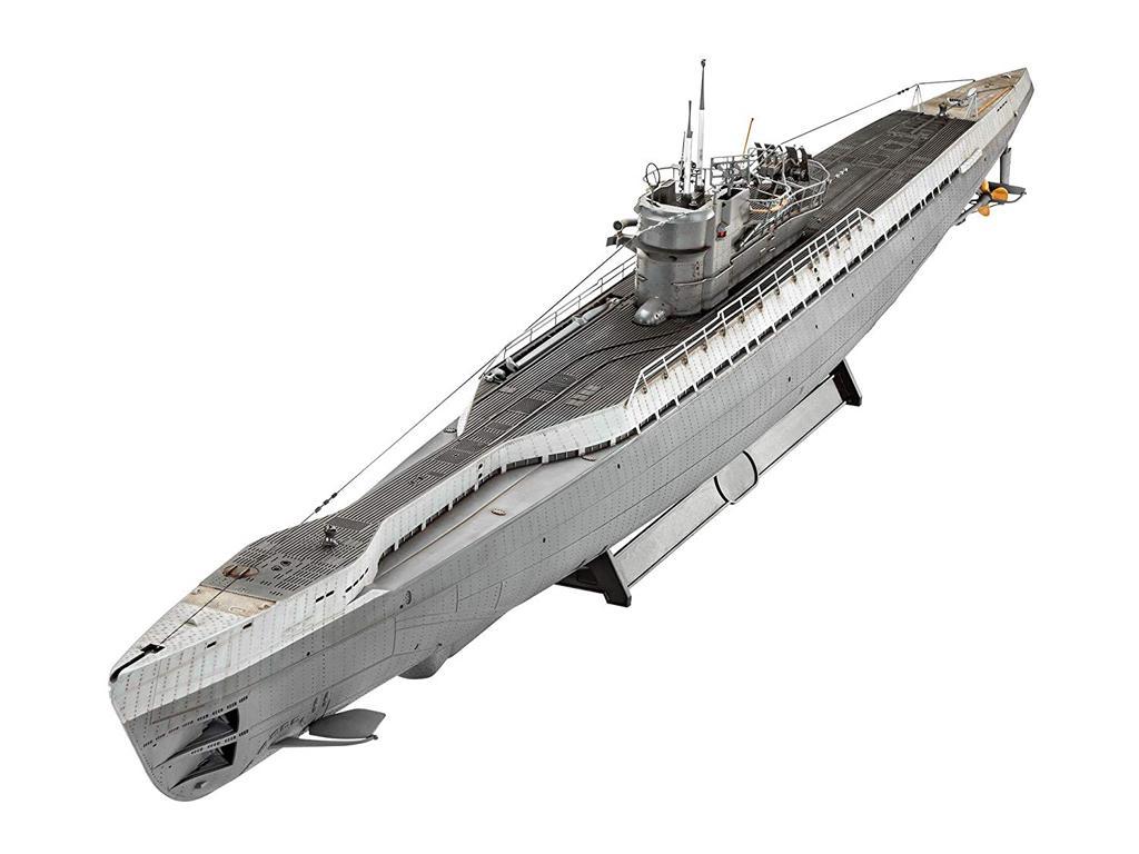 Submarino Aleman TYPE IX C/40 (Vista 3)