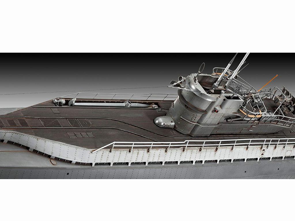 Submarino Aleman TYPE IX C/40 (Vista 6)