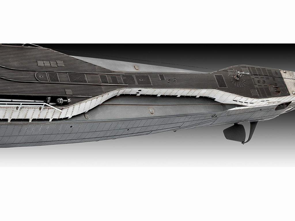 Submarino Aleman TYPE IX C/40 (Vista 7)