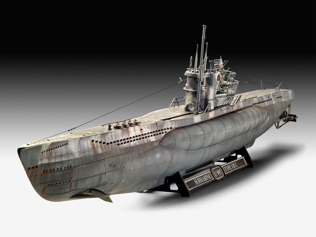 Submarino Aleman Tipo VII C/41 (Vista 3)