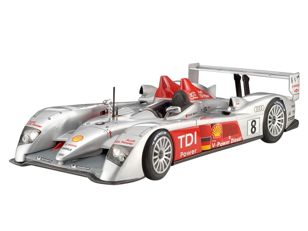 Audi R10 TDI Le Mans + 3D Puzzle Diorama (Vista 4)