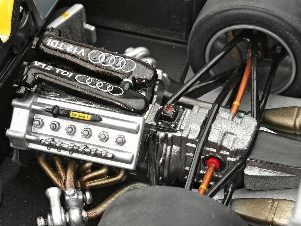 Audi R10 TDI Le Mans + 3D Puzzle Diorama (Vista 5)