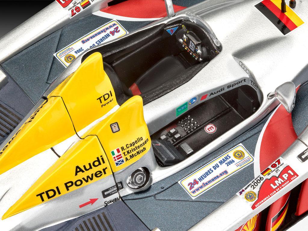 Audi R10 TDI Le Mans + 3D Puzzle Diorama (Vista 6)