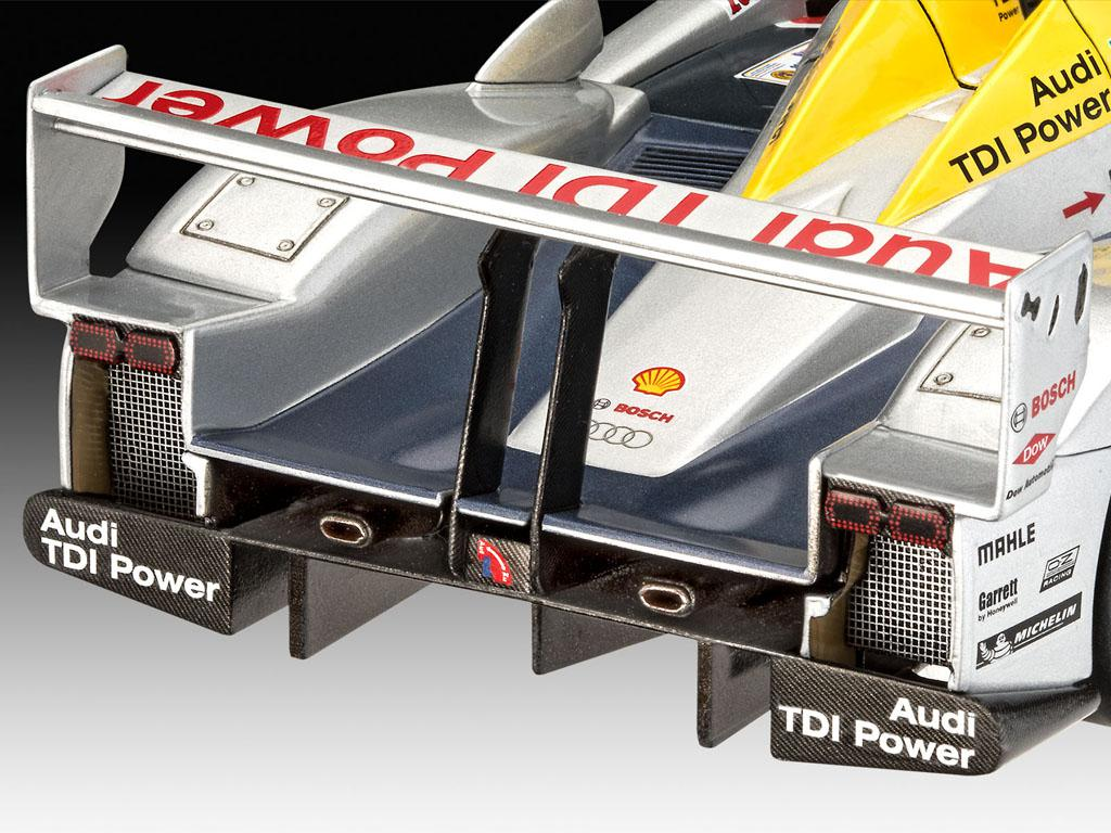 Audi R10 TDI Le Mans + 3D Puzzle Diorama (Vista 7)