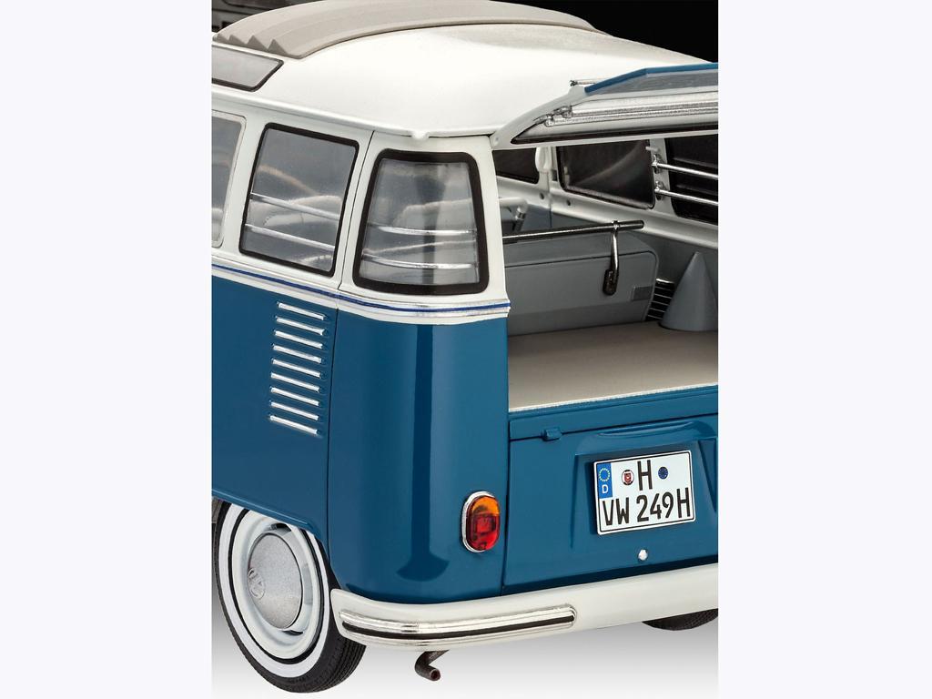 ecomodelismo volkswagen t1 samba bus. Black Bedroom Furniture Sets. Home Design Ideas