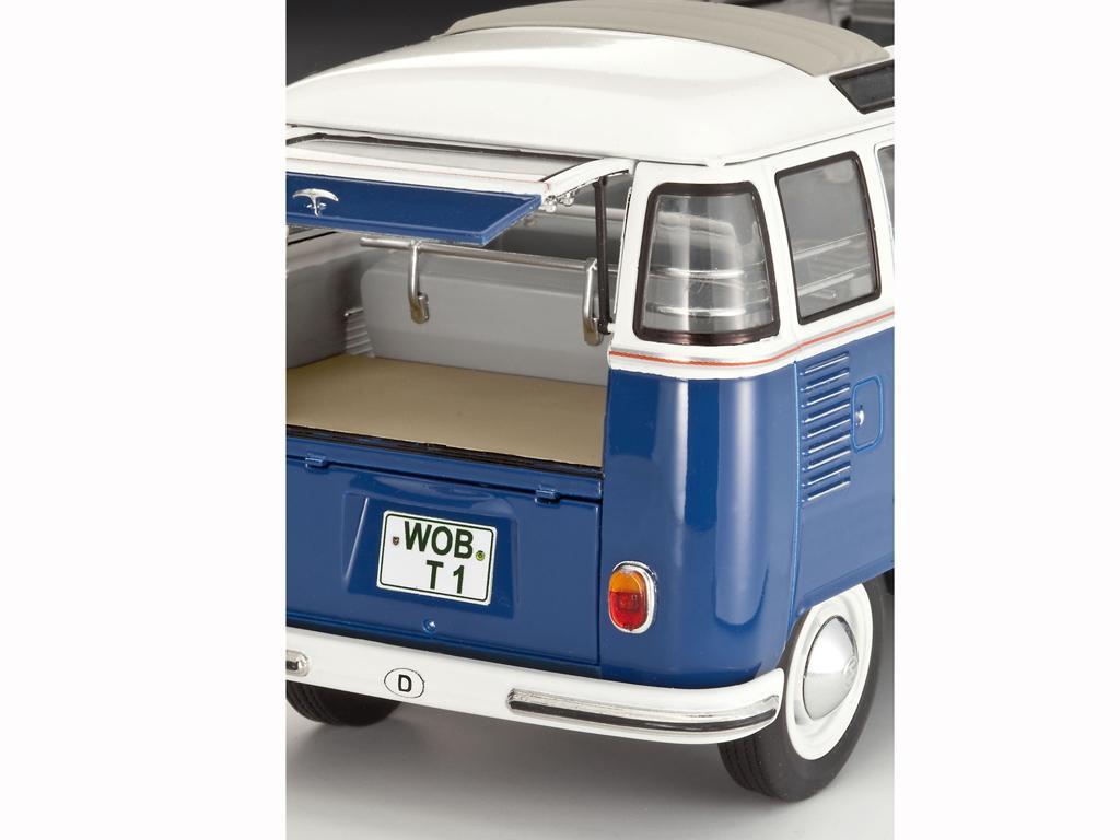 ecomodelismo vw t1 samba bus. Black Bedroom Furniture Sets. Home Design Ideas