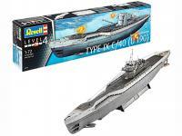 Submarino Aleman TYPE IX C/40 (Vista 9)