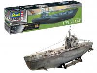 Submarino Aleman Tipo VII C/41 (Vista 5)