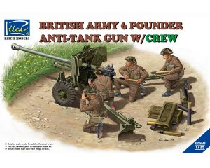 British Army 6 Pounder Infantry Anti-tan