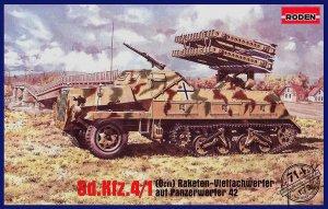 Sd.Kfz.4/1 Panzerwerfer 42  (Vista 1)