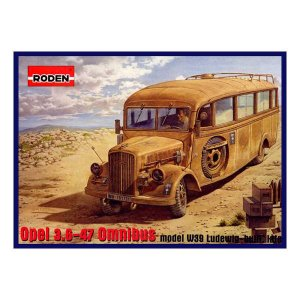Opel 3.6-47 Omnibus model W39 Ludewig-bu - Ref.: RODE-00808