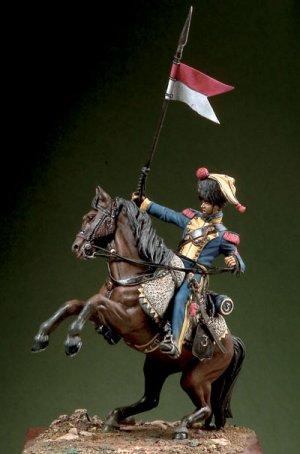 Elite Cavalryman 3rd Regiment Neapoletan  (Vista 1)